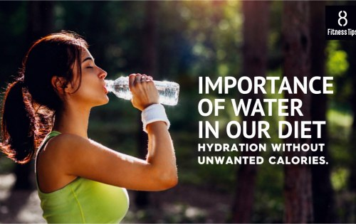 Importance of Water in our Diet