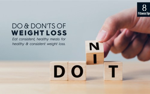 Understand the Dos & Don'ts of Weight Loss before you Begin