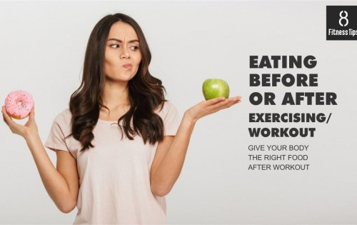 Give Your Body the Right Food Before and After Workout